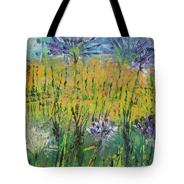 Thistles Too Tote Bag