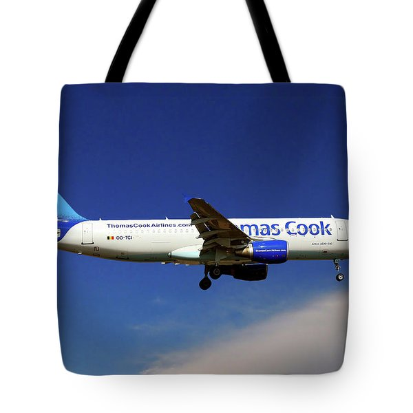 Thomas Cook Airlines Airbus A320-214 Tote Bag
