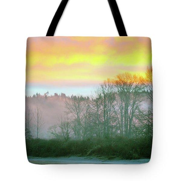 Thomas Eddy Sunrise Tote Bag