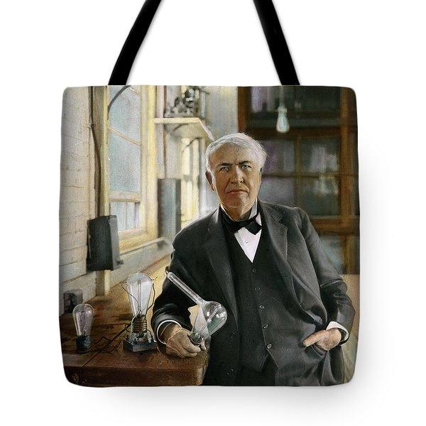 Thomas Edison Tote Bag by Granger