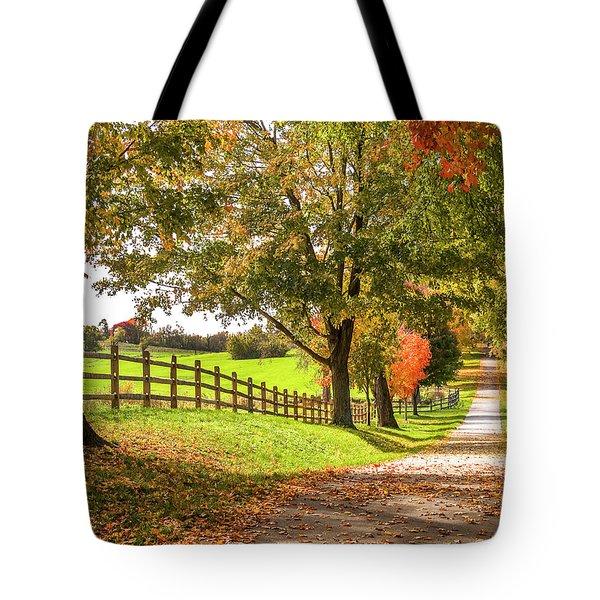 Thomas Farm Lane Tote Bag