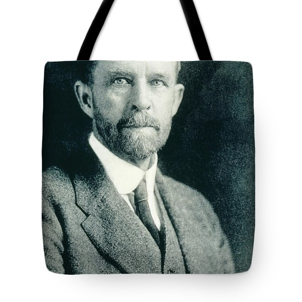 Thomas Hunt Morgan, American Geneticist Tote Bag by Photo Researchers, Inc.