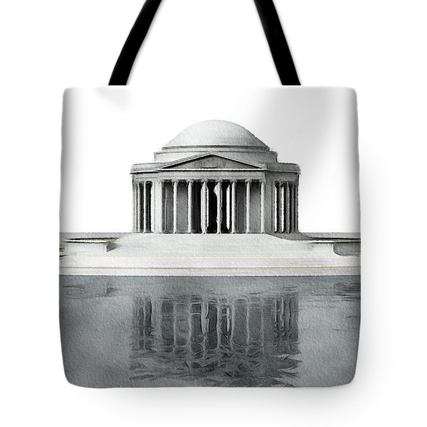 Thomas Jefferson Memorial, Washington Tote Bag