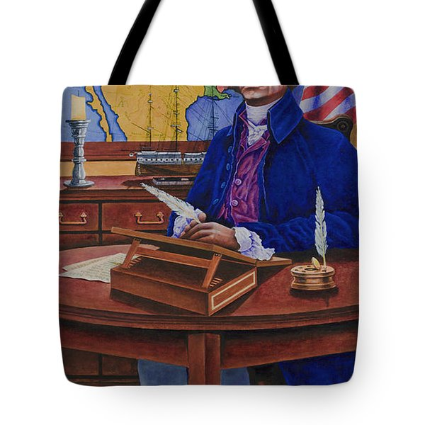 Thomas Jefferson Tote Bag by Michael Frank