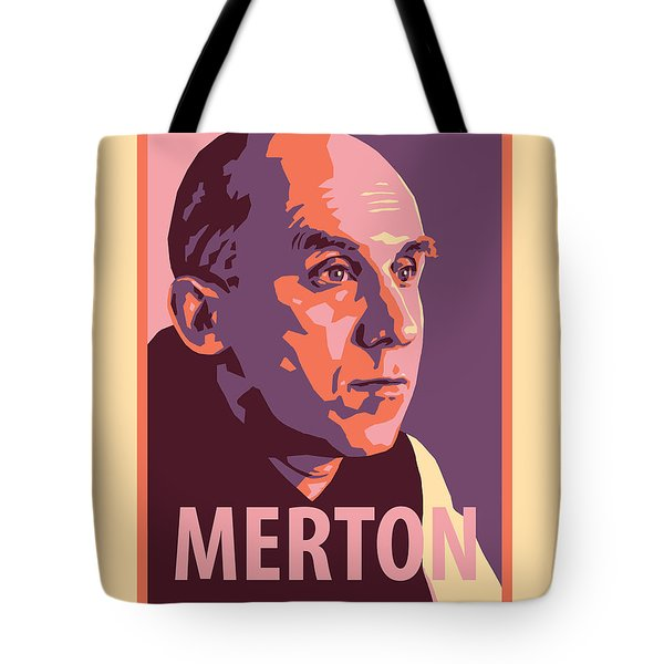 Thomas Merton - Jltme Tote Bag