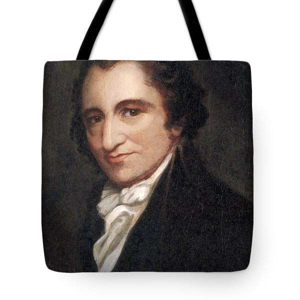 Thomas Paine, American Founding Father Tote Bag by Photo Researchers