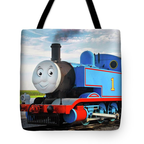 Thomas The Train Tote Bag by Paul W Faust -  Impressions of Light