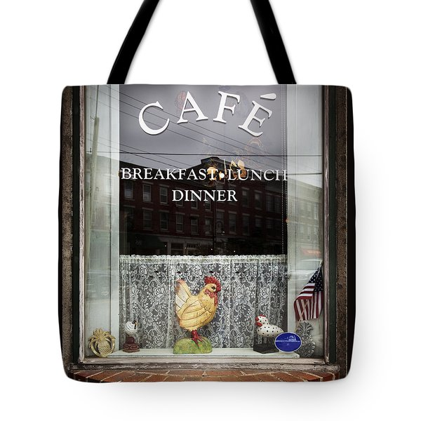 Thomaston Cafe Tote Bag