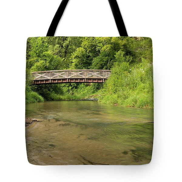 Thompson Creek Bridge 1 Tote Bag