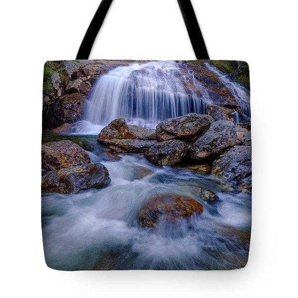 Thompson Falls, Pinkham Notch, Nh Tote Bag