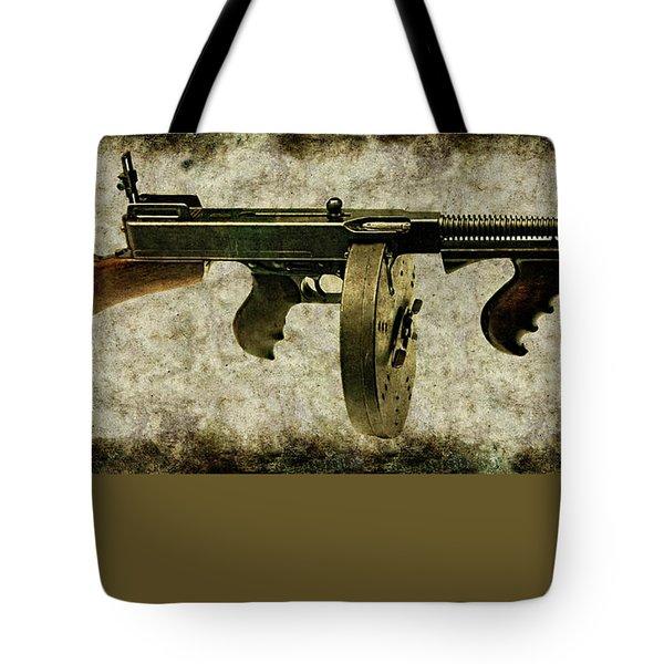 Thompson Submachine Gun 1921 Tote Bag