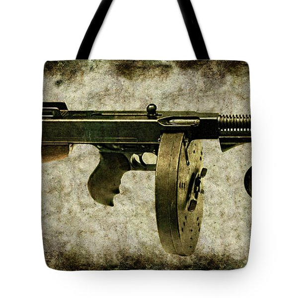 Thompson Submachine Gun 1921 Tote Bag