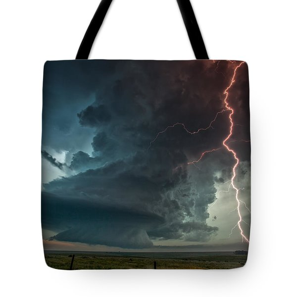 Thor Speaks Tote Bag by James Menzies