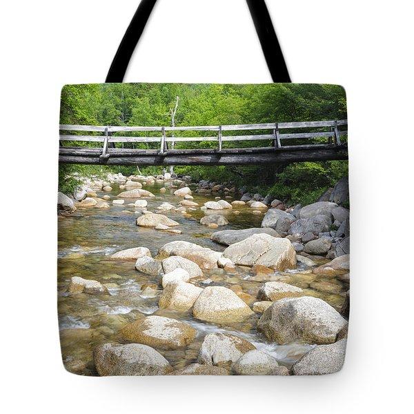 Thoreau Falls Trail - Pemigewasset Wilderness New Hampshire Tote Bag