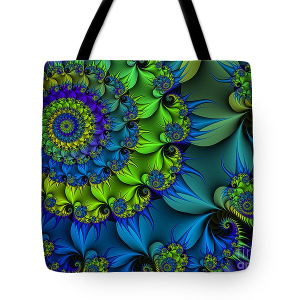 Thorn Flower Tote Bag