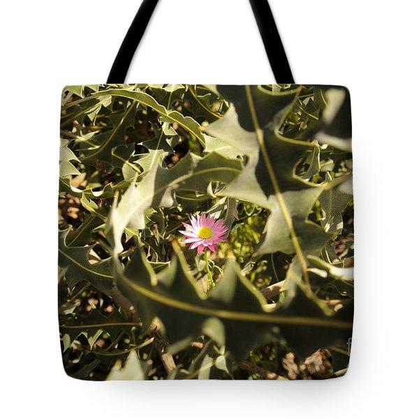 Thorn Love Tote Bag by Oscar Moreno