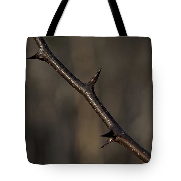 Thorn Tote Bag by Steve Gravano