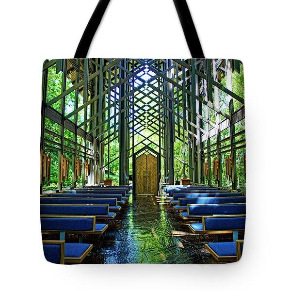 Thorncrown Chapel Serenity Tote Bag