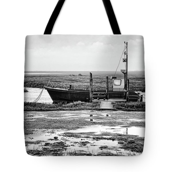 Thornham Harbour, North Norfolk Tote Bag by John Edwards