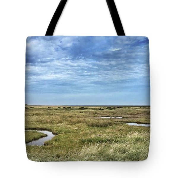 Thornham Marshes, Norfolk Tote Bag