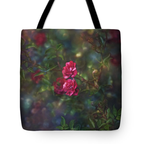 Thorns And Roses II Tote Bag