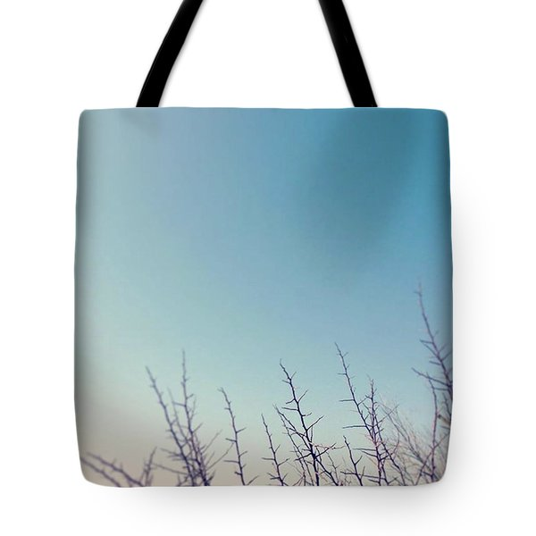 Thorns Against The Sky Tote Bag