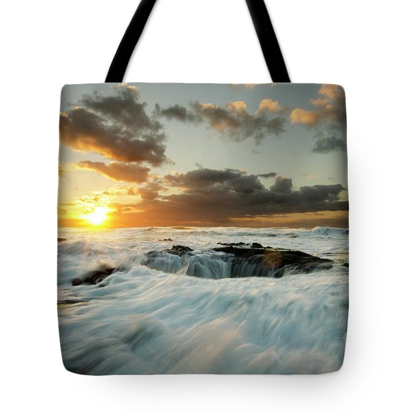 Thors Well Cape Perpetua 1 Tote Bag by Bob Christopher