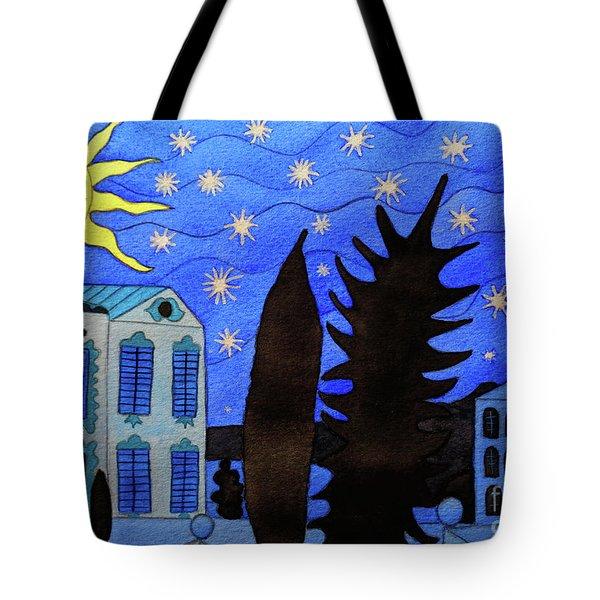 Those Romantic Nights Tote Bag