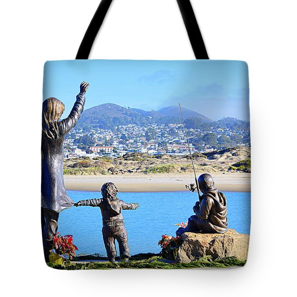 Tote Bag featuring the photograph Those Who Wait by AJ Schibig