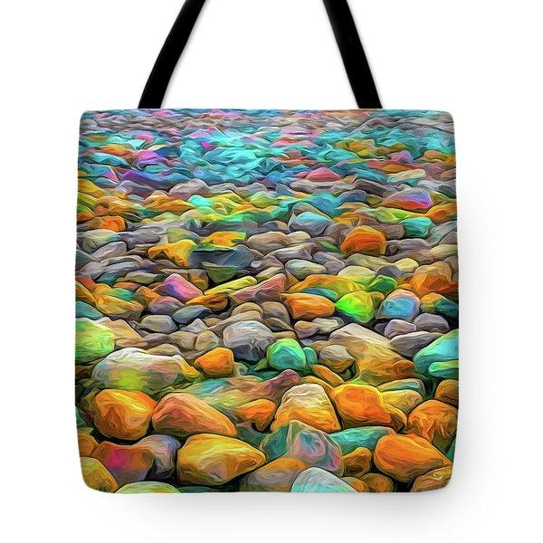 Thou Shalt Not Eat Stones Tote Bag