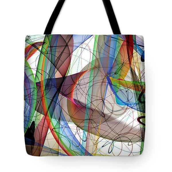 Though An Angel Should Write Tote Bag