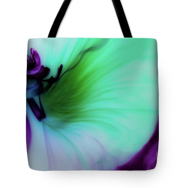 Though The Silence Tote Bag