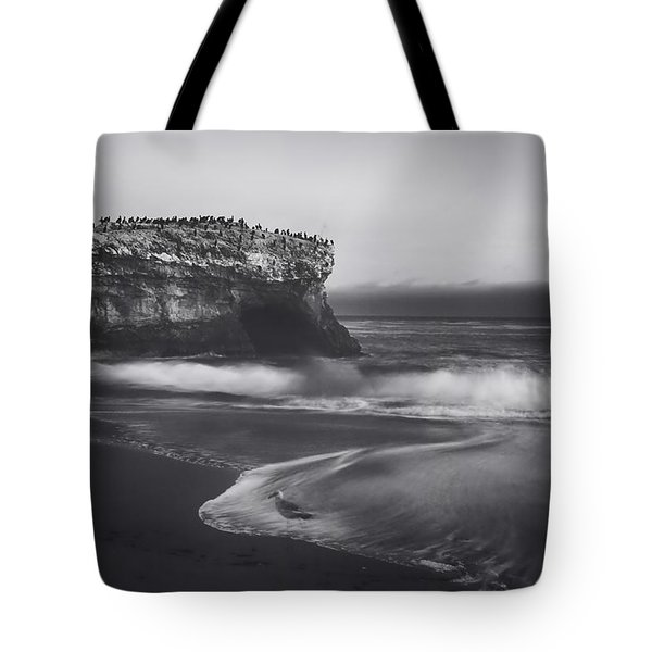 Though The Tides May Turn Tote Bag