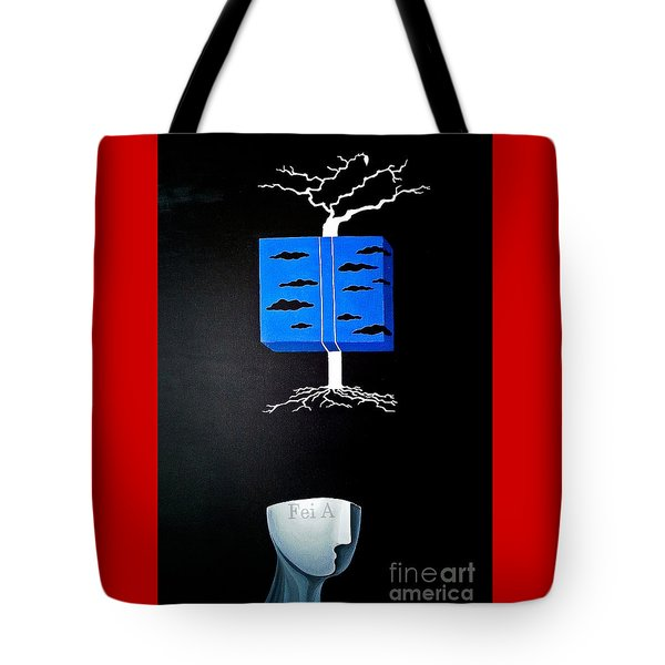 Thought Block Tote Bag