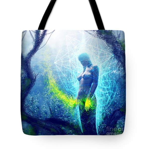 Thought Causing Potential Tote Bag by Tony Koehl