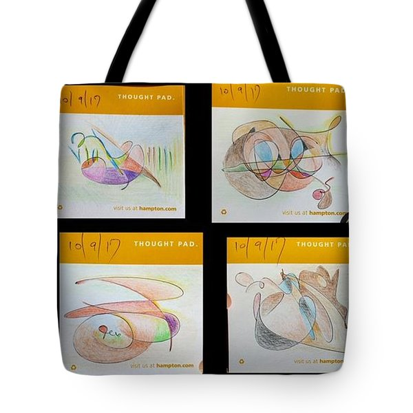 Thought Pad Series Tote Bag