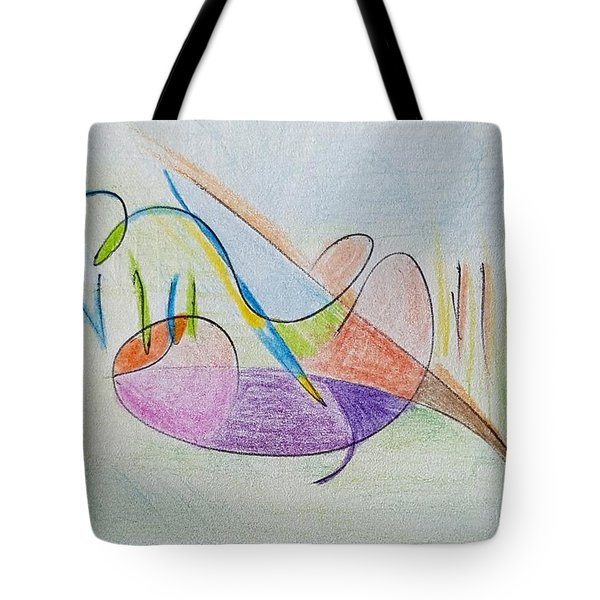 Thought Pad Series Page 2 Tote Bag