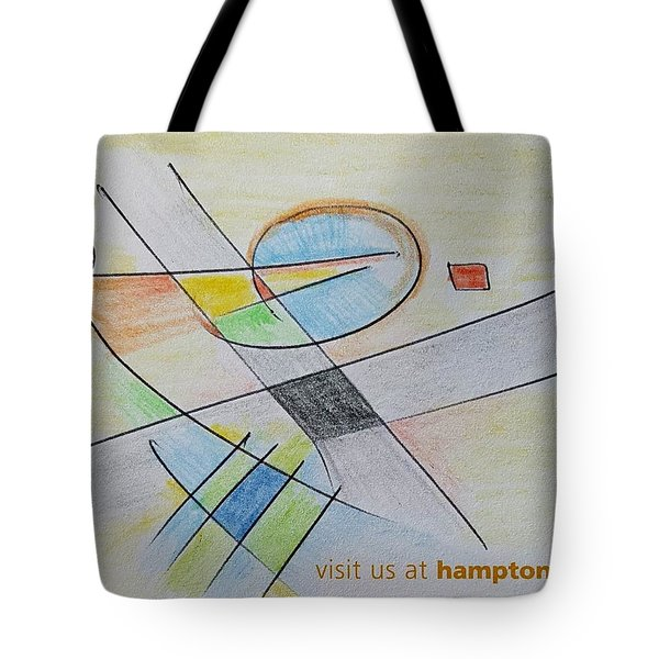 Thought Pad Series Page 4 Tote Bag