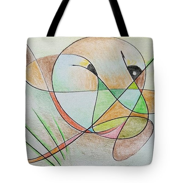 Thought Pad Series Page 5 Tote Bag