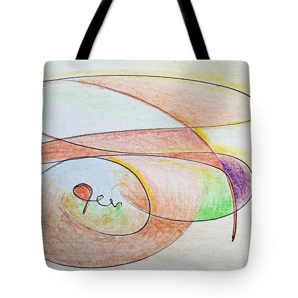 Thought Pad Series Page 6 Tote Bag