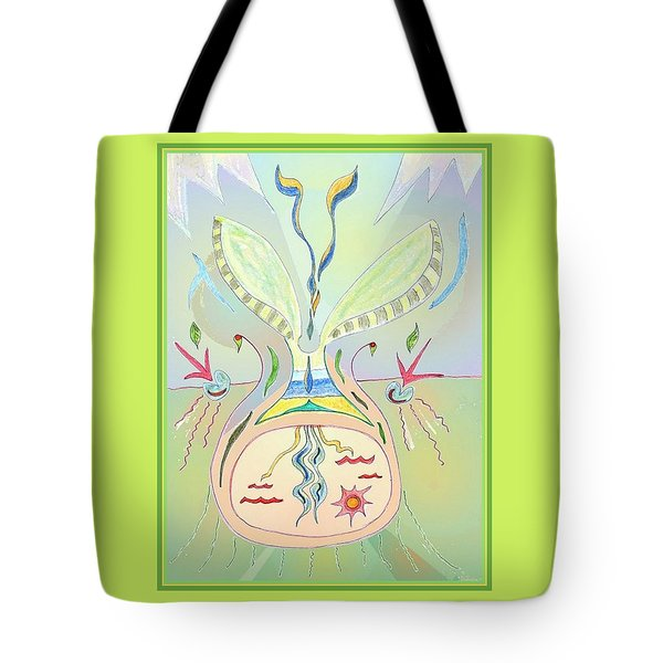 Thought Seed Tote Bag
