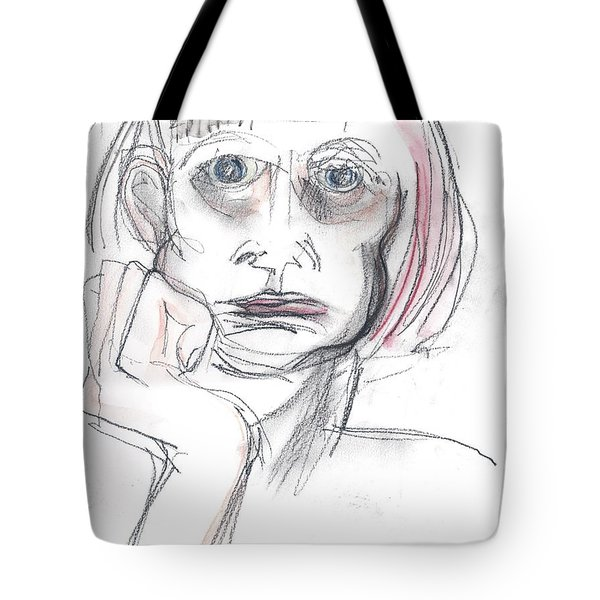 Thoughtful - A Selfie Tote Bag