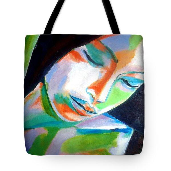Thoughtful Tote Bag by Helena Wierzbicki