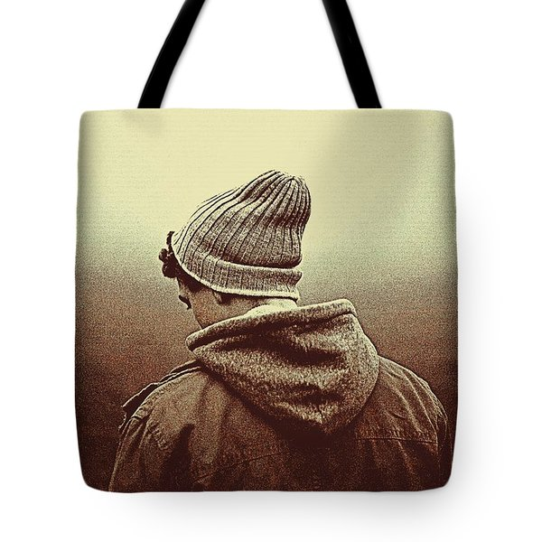 Thoughtful Youth Series 18 Tote Bag