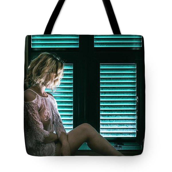 Thoughts And Silences Tote Bag