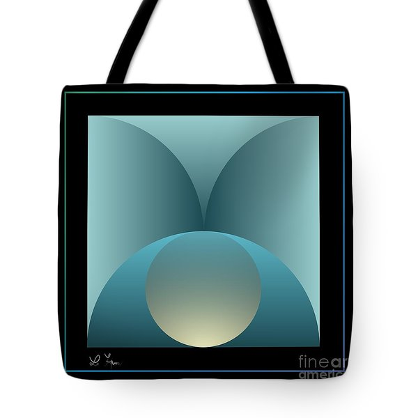 Thoughts Observation Tote Bag by Leo Symon