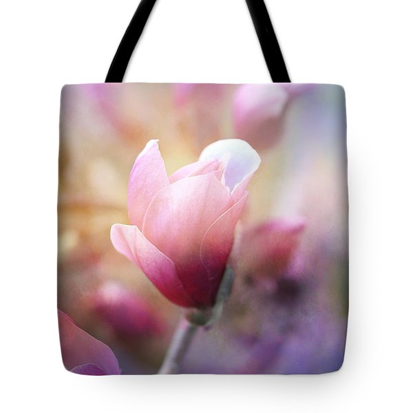 Thoughts Of Flowers Tote Bag