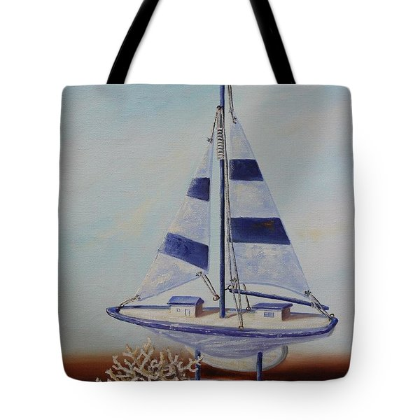 Thoughts Of Sea Tote Bag