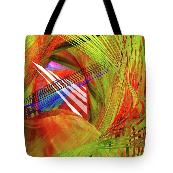 Thoughts Of Spirits Dancing Tote Bag