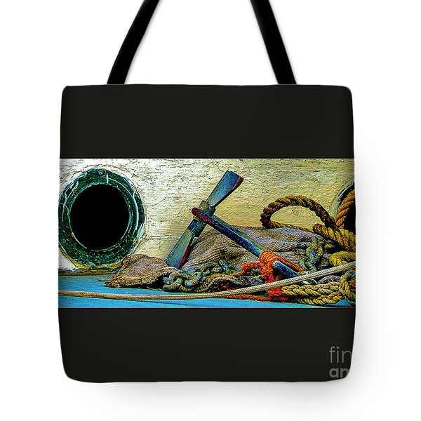 Thoughts Of The Sea Tote Bag